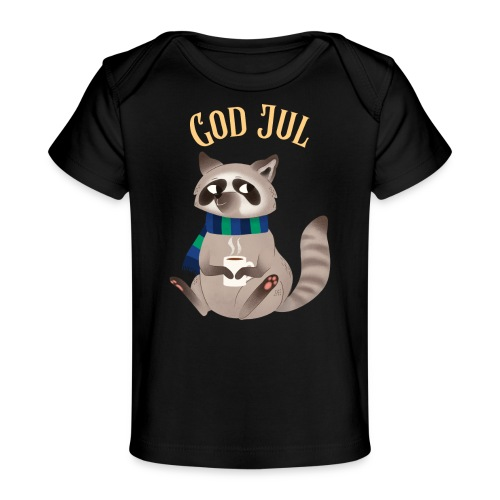 God jul - Økologisk baby-T-skjorte