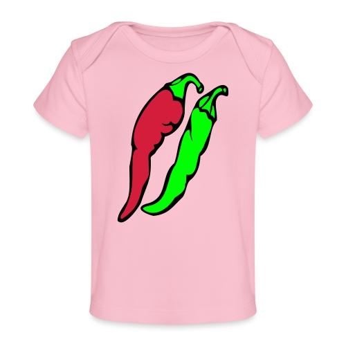 Chilli - Ekologiczna koszulka dla niemowląt