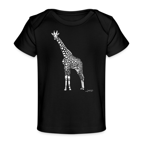 White Girafe by Joaquín - T-shirt bio Bébé