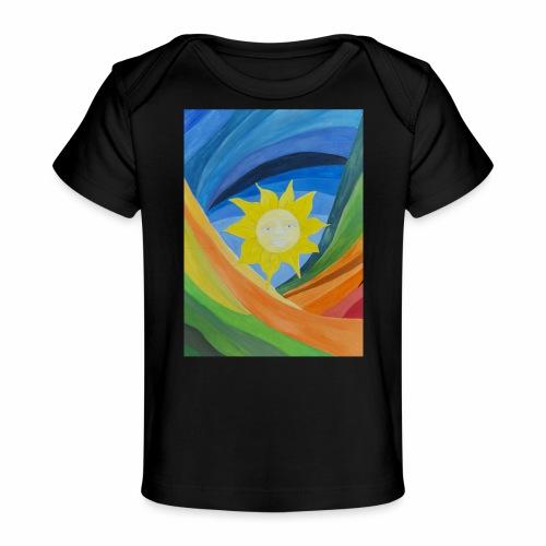 lachende-sonne - Baby Bio-T-Shirt
