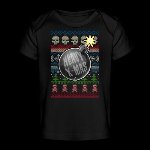 Heavy X-Mas Christbaumkugel-Bombe - Baby Bio-T-Shirt