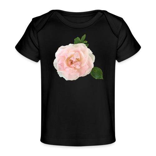 Ruusu Morden Blush - Vauvojen luomu-t-paita