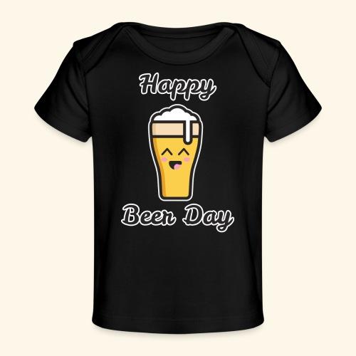 happy beer day - T-shirt bio Bébé