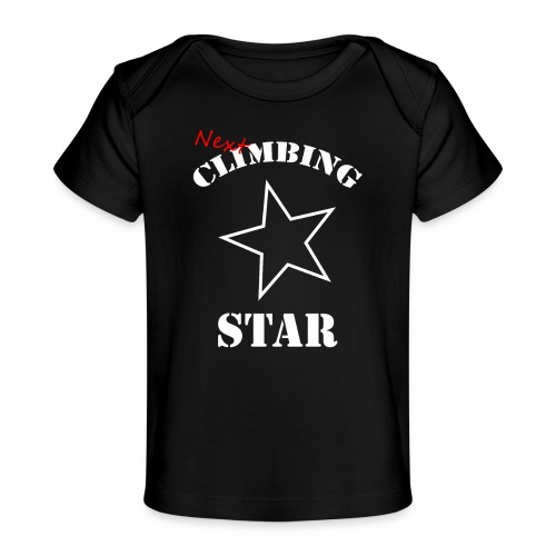 Next Climbing Star - Baby Bio-T-Shirt