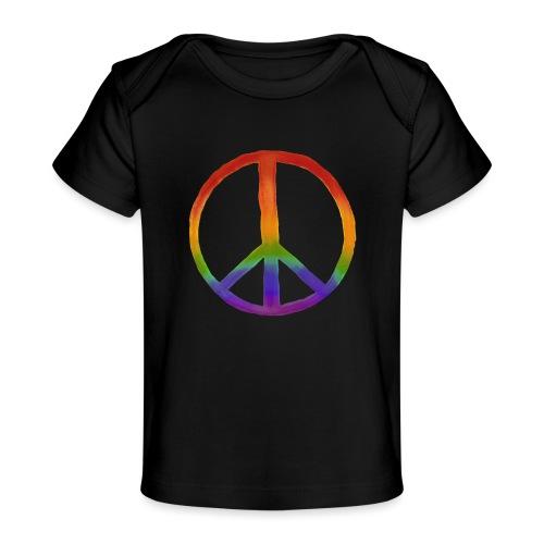 Peace - Maglietta ecologica per neonato
