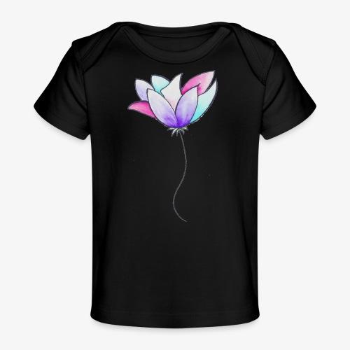 Fleur - T-shirt bio Bébé