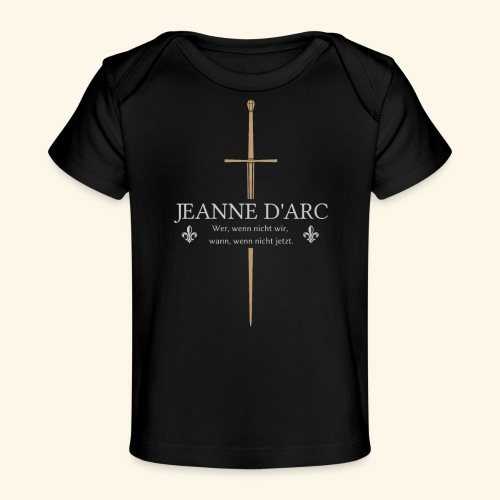 Jeanne d arc - Baby Bio-T-Shirt