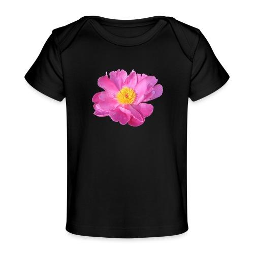 TIAN GREEN Garten - PfingstRose - Baby Bio-T-Shirt