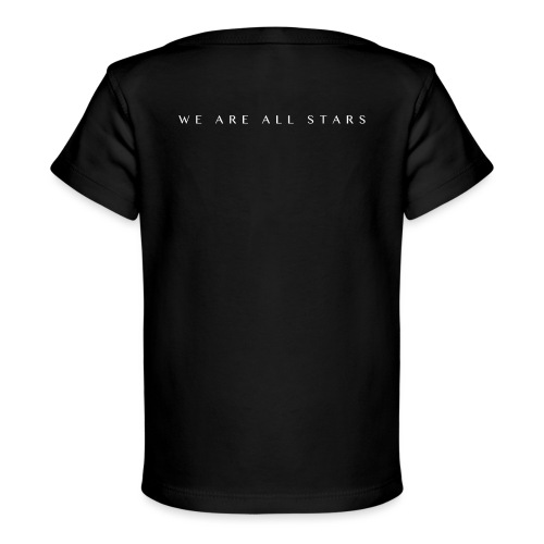 Galaxy Music Lab - We are all stars - Økologisk T-shirt til baby