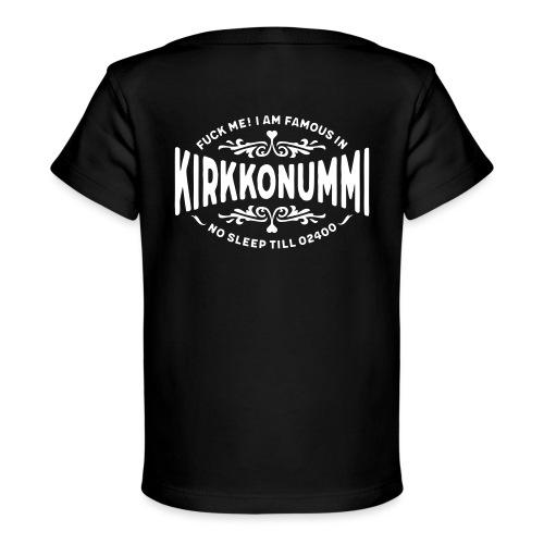 Kirkkonummi - Fuck Me - Vauvojen luomu-t-paita