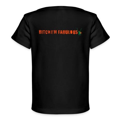 Bitch, I'm fabulous modliszka, długie - Ekologiczna koszulka dla niemowląt
