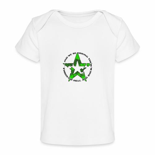 ra star slogan slime png - Baby Bio-T-Shirt