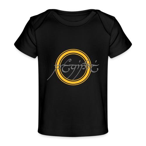 Tolkiendil en tengwar (écusson & dos) - T-shirt bio Bébé