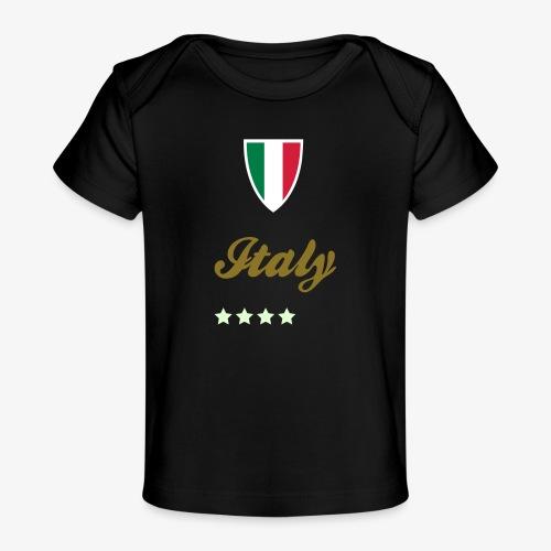 Gruppo di stelle Italia - Maglietta ecologica per neonato