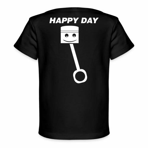 Happy Day - Baby Bio-T-Shirt