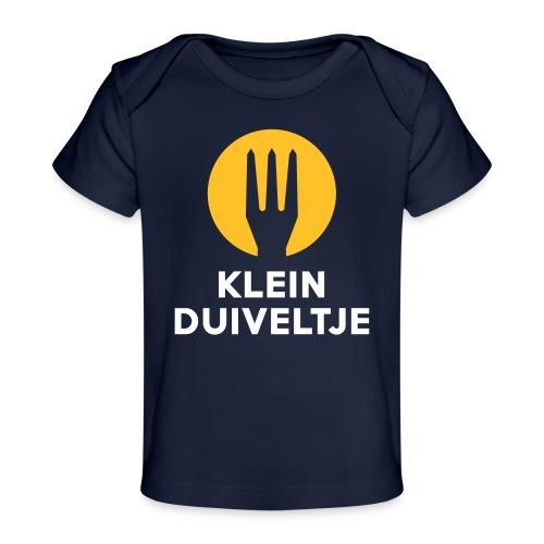 klein duiveltje - trident - T-shirt bio Bébé