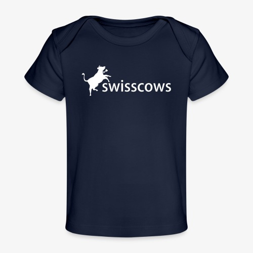 Swisscows - Logo - Baby Bio-T-Shirt