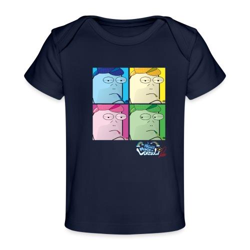 Commissario Warhol - Maglietta ecologica per neonato