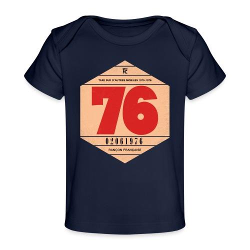 Vignette automobile 1976 - T-shirt bio Bébé