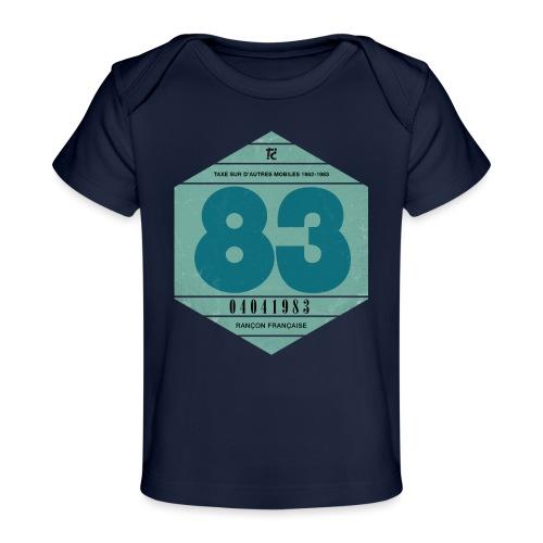 Vignette automobile 1983 - T-shirt bio Bébé