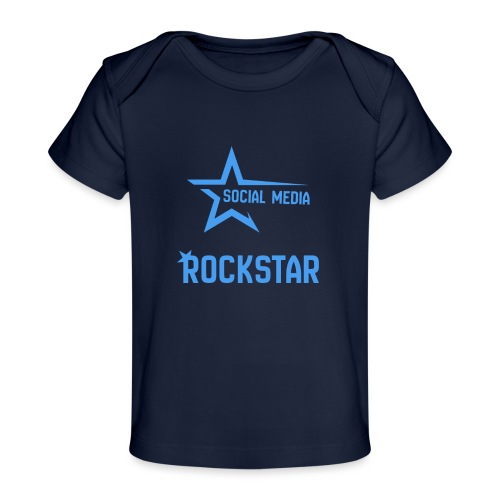 Social Media Rockst*r - Baby Bio-T-Shirt