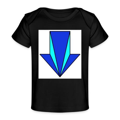 flecha - Camiseta orgánica para bebé