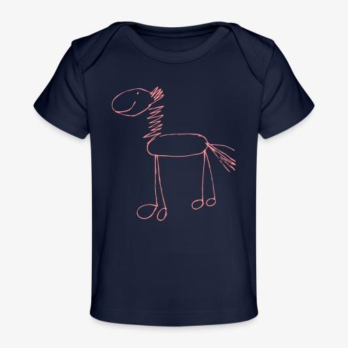 horse1 - Ekologiczna koszulka dla niemowląt