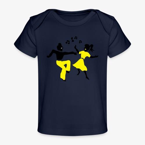 retro dance jive patjila - Organic Baby T-Shirt
