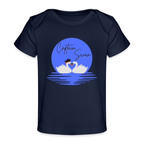 Captain Swan - T-shirt bio Bébé