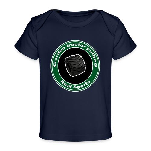børne Real Tractor Pulling - Økologisk T-shirt til baby