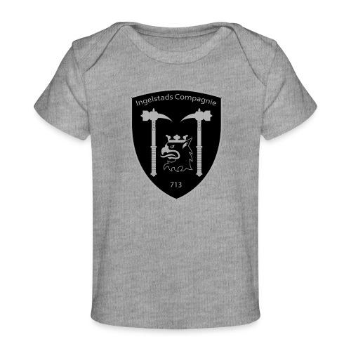 Kompanim rke 713 m nummer gray ai - Ekologisk T-shirt baby