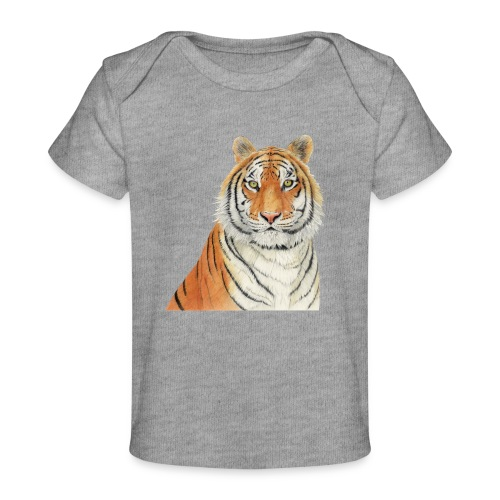 Tigre,Tiger,Wildlife,Natura,Felino - Maglietta ecologica per neonato