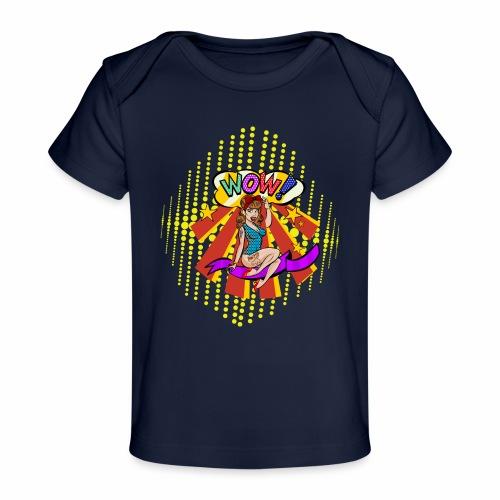 popartcontest - Camiseta orgánica para bebé