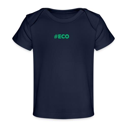 #ECO Blue-Green - Baby Bio-T-Shirt