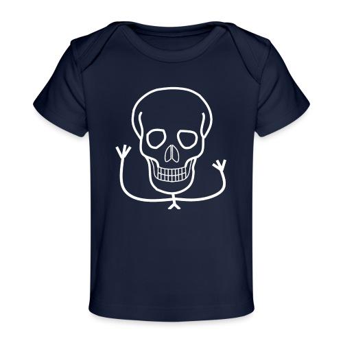Freundlicher Knochenkopf - Baby Bio-T-Shirt