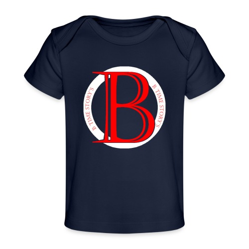 Wit Rood logo - Baby bio-T-shirt