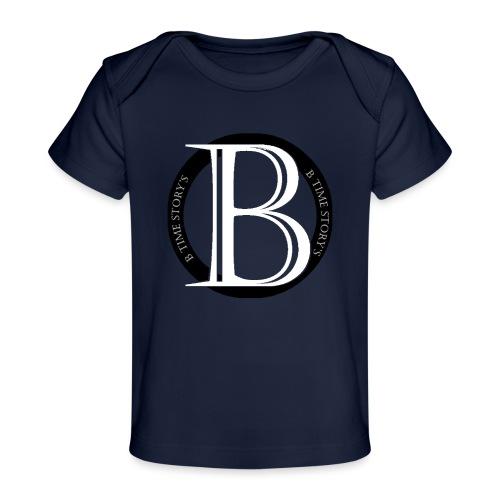 logo zwart - Baby bio-T-shirt