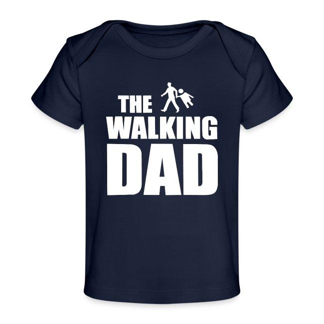 the walking dad weiss auf dem Weg in die lustige