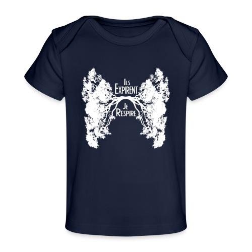 Oxygène blanc - T-shirt bio Bébé
