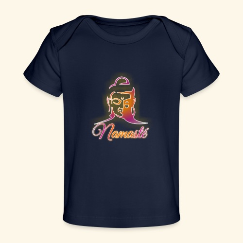Buddha - Namasté - Baby Bio-T-Shirt
