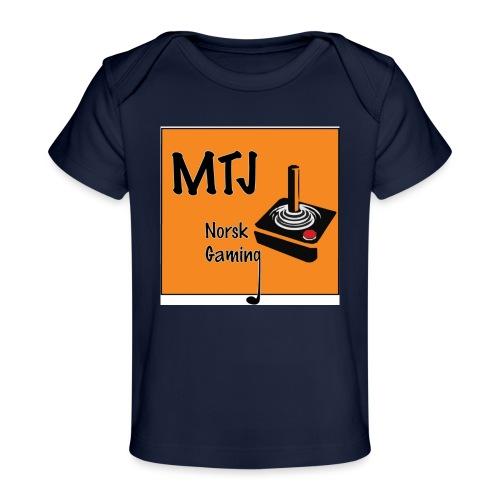 Mtj Logo - Økologisk baby-T-skjorte