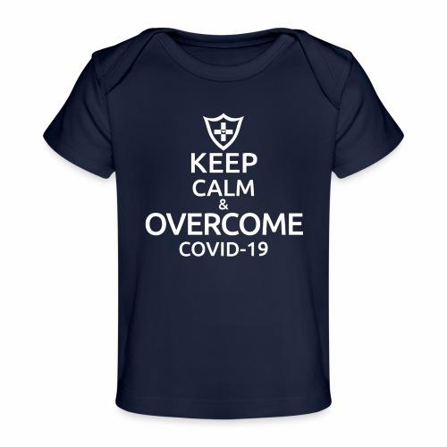 Keep calm and overcome - Ekologiczna koszulka dla niemowląt