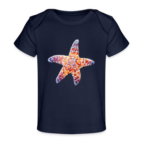 Seestern - Baby Bio-T-Shirt