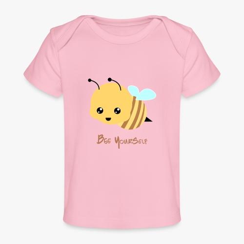 Bee Yourself - Økologisk T-shirt til baby
