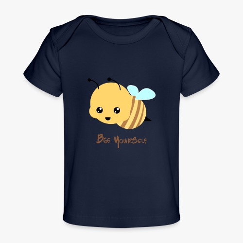 Bee Yourself - Økologisk T-shirt til baby