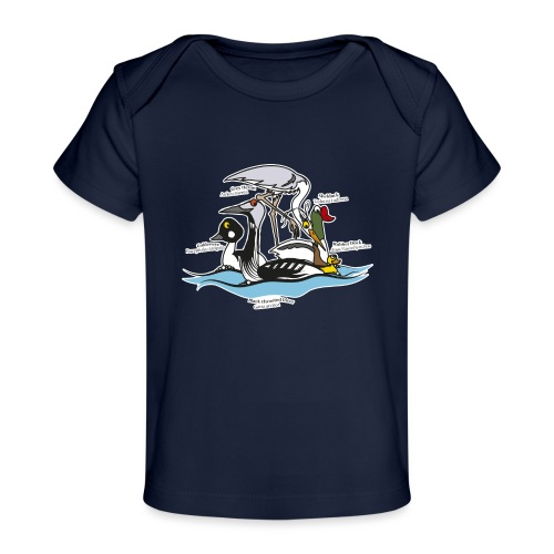Birds of a Feather - Organic Baby T-Shirt