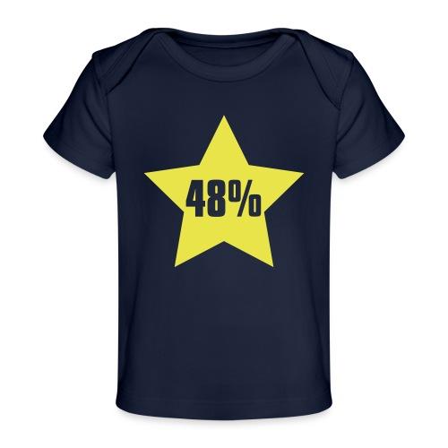 48% in Star - Organic Baby T-Shirt