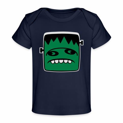 Fonster Weisser Rand ohne Text - Baby Bio-T-Shirt