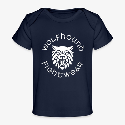 logo round w - Organic Baby T-Shirt
