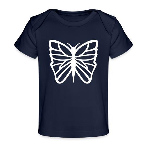 Avancerat fjärils motiv. - Ekologisk T-shirt baby